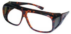 Radiation Protection Eyewear Fitovers Tortoise