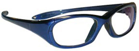 Maxi Wraparound Glasses Blue